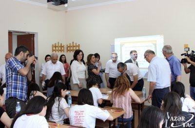 Bakı Slavyan Universitetində yay imtahan sessiyasının monitorinqi aparılıb